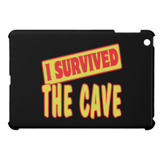 I SURVIVED THE CAVE iPad MINI CASES