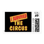 I SURVIVED THE CIRCUS POSTAGE