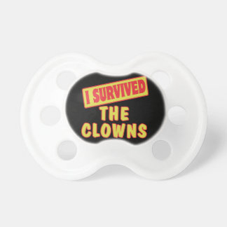 i survived the clowns pacifier
