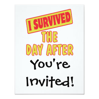 I SURVIVED THE DAY AFTER CARD