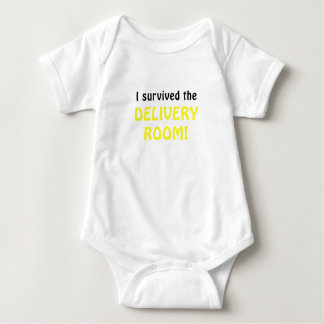 I Survived the Delivery Room Baby Bodysuit