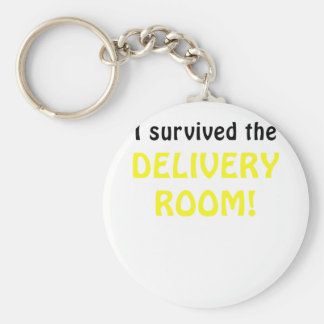 I Survived the Delivery Room Key Chains
