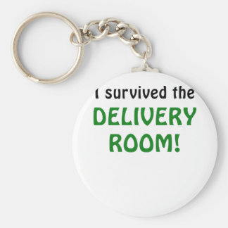 I Survived the Delivery Room Key Chain