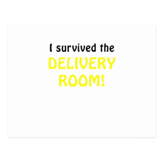 I Survived the Delivery Room Postcard