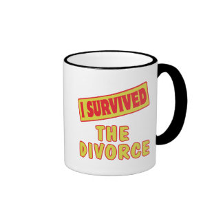 I SURVIVED THE DIVORCE MUG