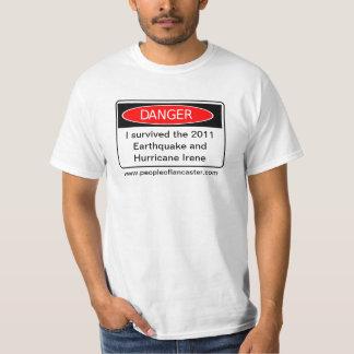 I Survived the Earthquake and Hurricane T-Shirt