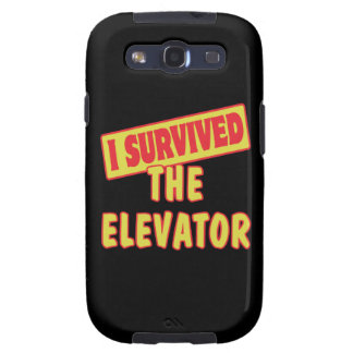 I SURVIVED THE ELEVATOR SAMSUNG GALAXY SIII COVERS
