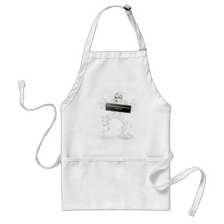 I survived the end of the world  12-21-12! adult apron