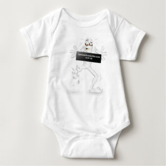 I survived the end of the world  12-21-12! baby bodysuit
