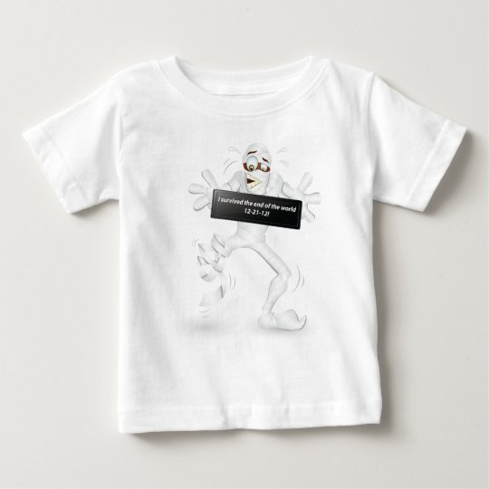 I survived the end of the world  12-21-12! baby T-Shirt