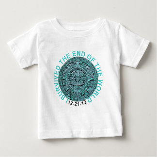 I Survived the End of the World 12-21-12 Funny T Baby T-Shirt