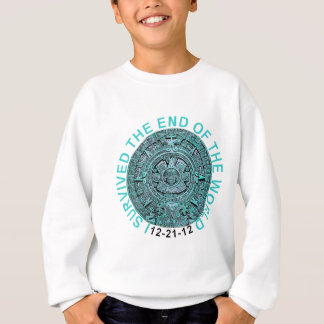 I Survived the End of the World 12-21-12 Funny T Sweatshirt