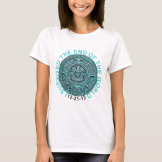 I Survived the End of the World 12-21-12 Funny T T-Shirt