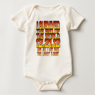 I Survived The End of The World - 12-21-12 - Lousy Bodysuit