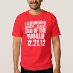 I Survived The End of The World - 12-21-12 - Mayan Tees