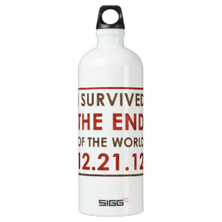 I Survived the end of the World 12.21.12 Water Bottle