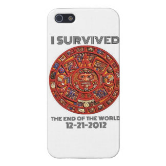 I Survived the End of the world 12-21-2012 Cover For iPhone SE/5/5s