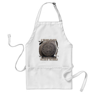 I SURVIVED THE END OF THE WORLD 2012 ADULT APRON
