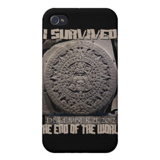 I SURVIVED THE END OF THE WORLD 2012 COVER FOR iPhone 4