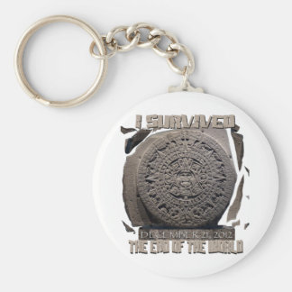 I SURVIVED THE END OF THE WORLD 2012 KEYCHAIN