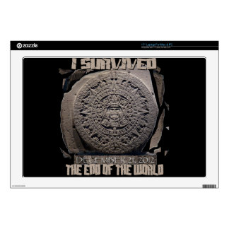 I SURVIVED THE END OF THE WORLD 2012 LAPTOP DECALS