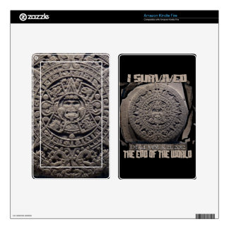 I SURVIVED THE END OF THE WORLD 2012 SKINS FOR KINDLE FIRE