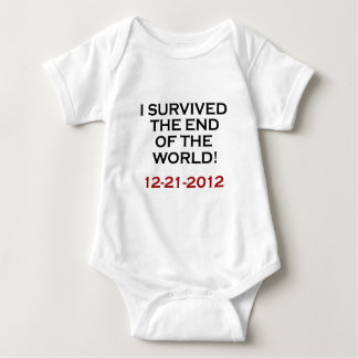 I Survived the End of the World! Baby Bodysuit