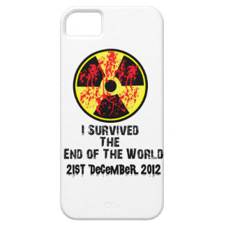 I Survived The End of The World Iphone 5 case