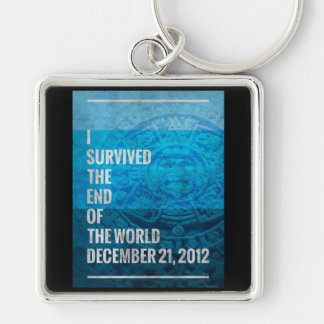 I Survived The End of The World Keychain