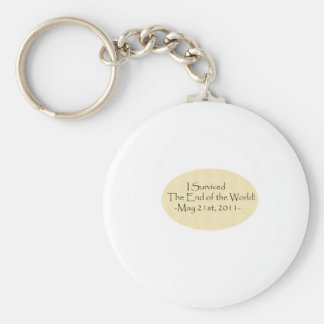 I survived the End of the World! Keychain