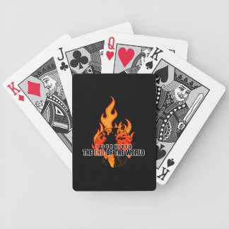 I Survived The End of the world Bicycle Playing Cards