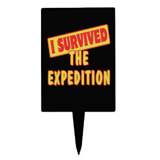 I SURVIVED THE EXPEDITION CAKE PICK