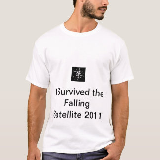 I Survived the Falling Satellite 2011 design 1 T-Shirt