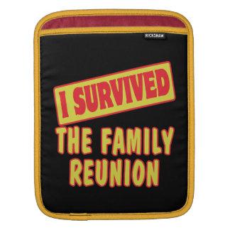 I SURVIVED THE FAMILY REUNION iPad SLEEVE