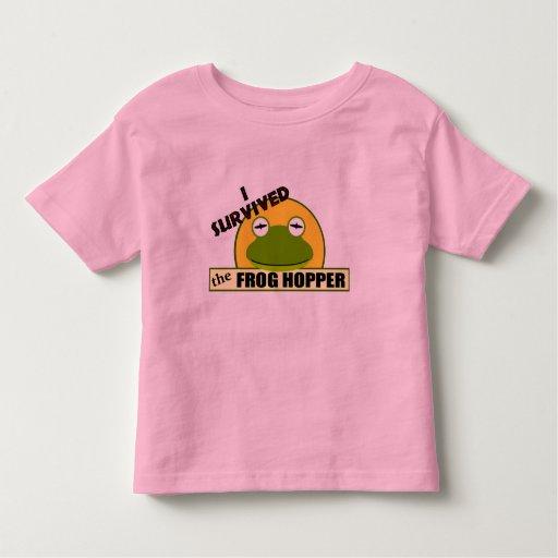 I Survived The Frog Hopper Tshirt