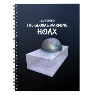 I Survived The Global Warming Hoax Notebook
