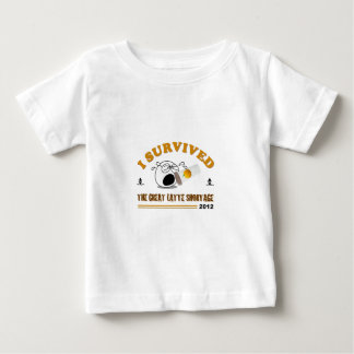 I Survived the Great Latte Shortage - 2012 T Shirt