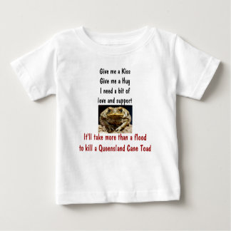 I Survived the Great Queensland Floods of 2011 Inf Baby T-Shirt