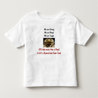 I Survived the Great Queensland Floods of 2011 Tod Toddler T-shirt
