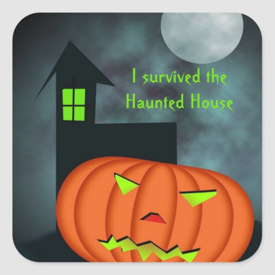 I survived the Haunted House Sticker