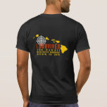 """I survived the Hawaii Ballistic Missile Attack T-Shirt<br><div class=""""desc"""">January 13 2018 an alert was sent out to all people in Hawaii about a missile attack and to seek shelter immediately.  It turned out to be a false alarm.</div>"""