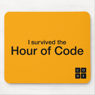 I Survived the Hour of Code Mouse Pads