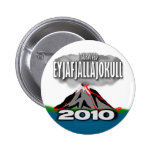 I Survived The Iceland Volcano 2 Inch Round Button