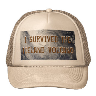 I Survived The Iceland Volcano Hat