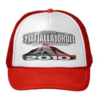 I Survived The Iceland Volcano Mesh Hat