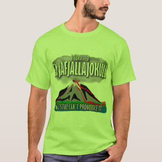 I Survived The Iceland Volcano T-Shirt