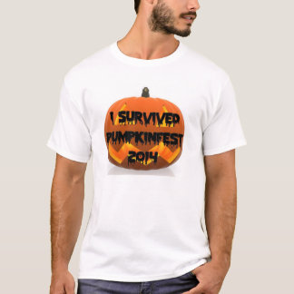 I Survived the Keene Pumpkinfest 2014 t-shirt