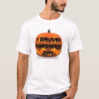 I Survived the Keene Pumpkinfest 2014 t-shirt
