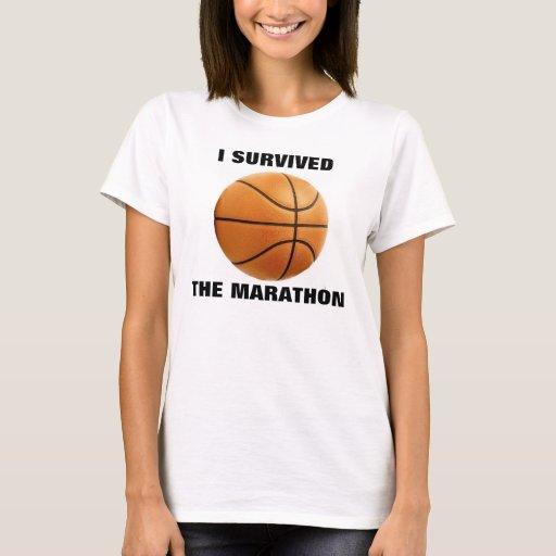 I SURVIVED THE MARATHON T-Shirt