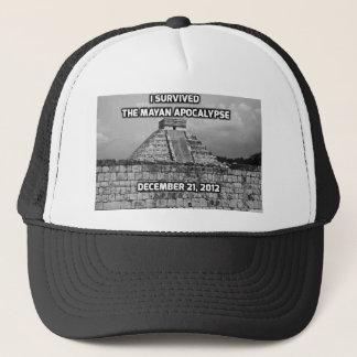 I Survived The Mayan Apocalypse Trucker Hat